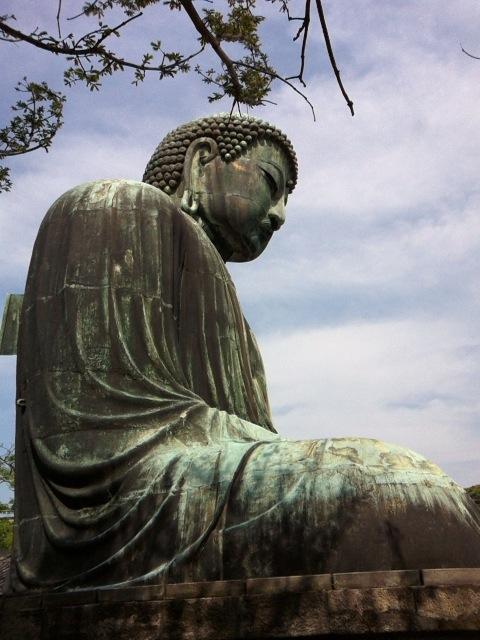 鎌倉大仏(横顔)