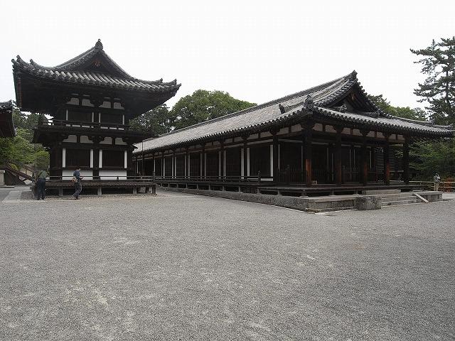 唐招提寺 東室(重要文化財)
