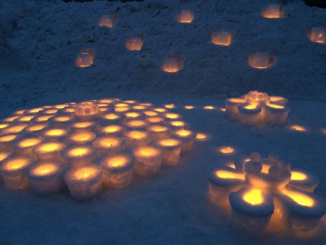 雪の華灯り